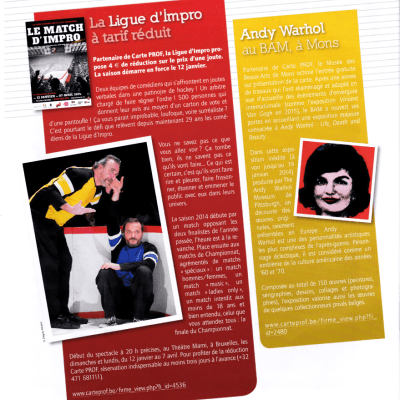 PROF Magazine - Ligue d'impro - 2013-12